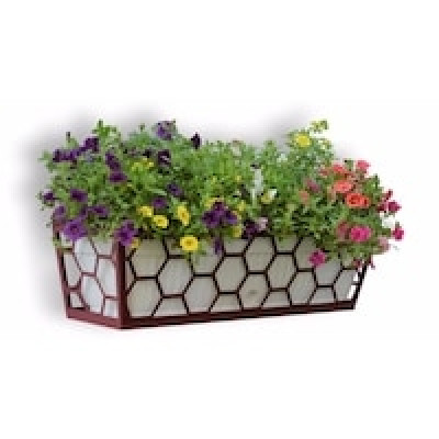 Suport metalic jardiniera Honeycomb